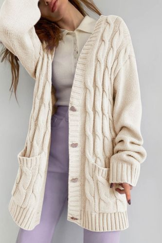 Nowssa Autumn Women Knitted Sweater Cardigan Open Stitch Hooded Letters Loose Sweaters Fall Fashion New Sweaters for Women 2021