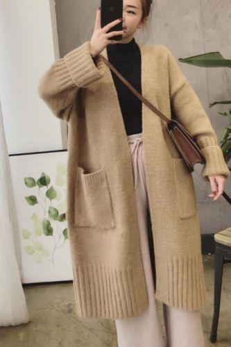 Women Fashion Knit Cardigans Women Clothing Long Sweaters Autumn Winter Clothing Long Cardigans Oversized Cardigan