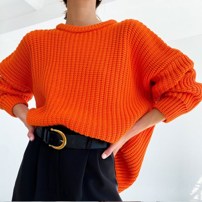 Women's Sweater Oversize Long Knitted V-neck Loose Ladies Sweaters Pullover Drop Shoulder Green Solid Autumn 2021 Casual Fashion