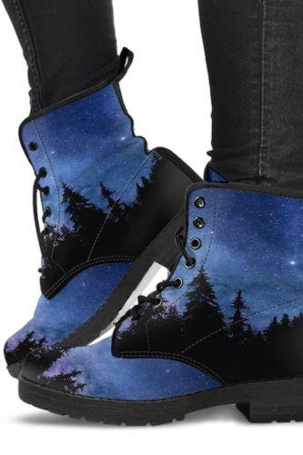 Autumn Ladies Ankle Shoes for Women Boots Punk Style Tie-Dye Non Slip Lace-Up Round Toe Plus Size Female Footwear Platform Boot