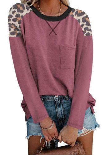 Autumn Fashion Women's Top T-shirt New Leopard Print Short-sleeved  Top Plus Size Fashion Top T-shirt Shirt Graphic T Shirts Y2k
