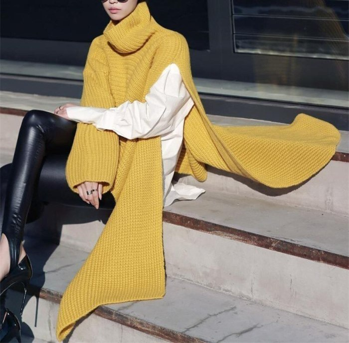 Winter Sweater Women White Yellow Knitted Turtleneck Women Winter Clothes Women Pull Femme Vetement Femme 2021 Sueters De Mujer