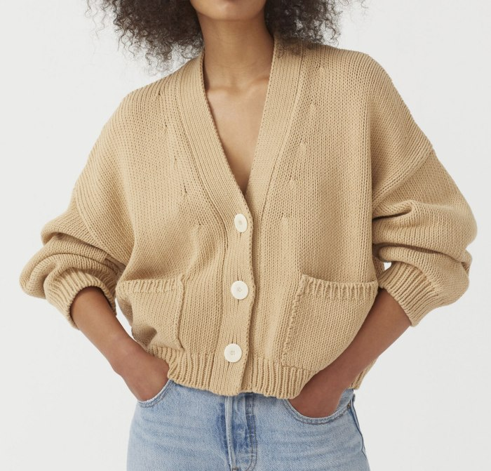 2021 Women Knitted Cardigans Sweater Fashion Autumn Long Sleeve Loose Coat Casual Button Thick V Neck Solid Female Tops Knitwear