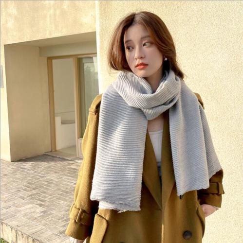 2021 solid color soft women scarf cashmere scarves ladies summer shawl wrap autumn winter pashmina
