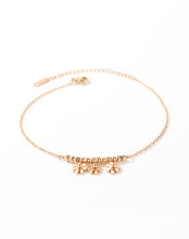 Wholesale Stainless Steel Women Daisy Flowers Fashion Anklet