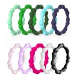 Wholesale Womens Silicone Jewellery Rings