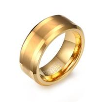Gold Tungsten Ring Wholesaler