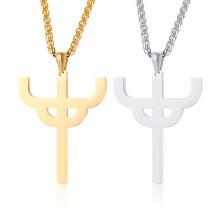 Wholesale Stainless Steel Judas Saint Le Pendant Necklace