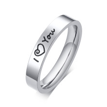 Wholesale Stainless Steel Love Ring for Girl