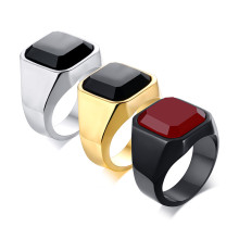 Wholesale Stainless Steel Onyx Stone Ring Benefits