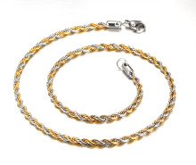 Wholesale Stainless Steel Rope Necklace for Smazon