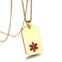 Wholesale Stainless Steel Medical Dog Tags