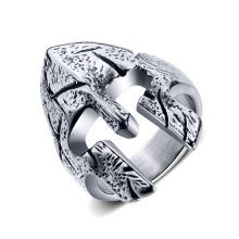 Wholesale Stainless Steel Warrior Helmet Ring