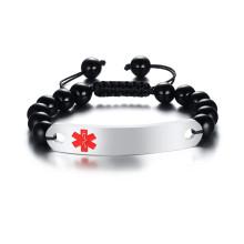 Wholesale Beads Bracelet Medical Identification