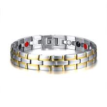 Wholesale Stainless Steel Mens 12mm Magnetic Bracelet