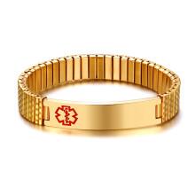 Wholesale Stainless Steel Medical Alert Id Bracelets