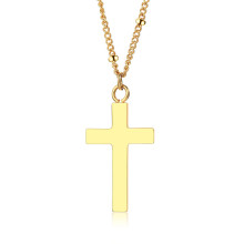 Wholesale Stainless Steel Cross Pendant Gold Designs