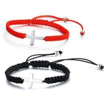 Wholesale Braided Rope Charm Bracelet