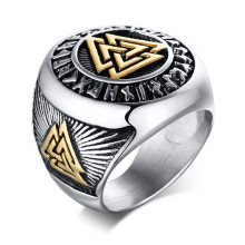 Wholesale Stainless Steel Fashion Trend Rings for Men