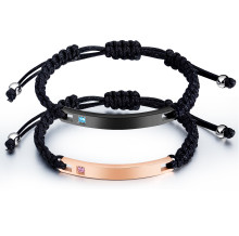Wholesale Stainless Steel Couple Id Bracelets