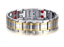 Wholesale Titanium Double Line Magnetic Bracelets