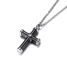 Wholesale Stainless Steel Cross Memorial Ashes Pendant
