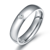Wholesale 5mm Stainless Steel CZ Rings from Manufacturer