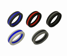 Wholesale Best Breathable Silicone Wedding Ring