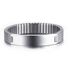 Wholesale Stainless Steel Stretch ID Bracelet Design Ideas