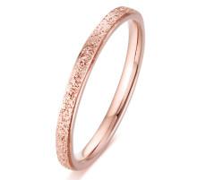 Wholesale 316 Stainless Steel Rings Dull Polish Rose Gold Ring Women Ring