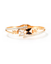 Wholesale Stainless Steel Bangle with Butterfly