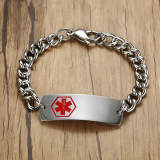 Wholesale Medical ID Bracelets Stainless Steel