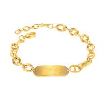 Wholesale Stainless Steel Women Cuban Link Bracelet