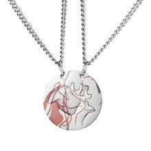 Wholesale Stainless Steel Love Pendant for Couples
