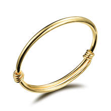Wholesale Gold Plated Brass Bangles for Women