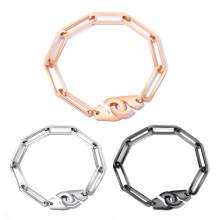 Wholesale Stainless Steel Handcuff Bracelet