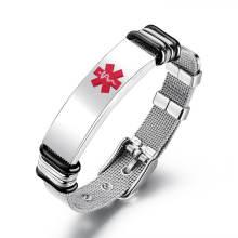 Wholesale Medical ID Bracelets for Men