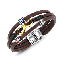 Wholesale Mens Leather Bracelet