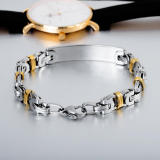 Wholesle Stainless Steel Personalised Bracelet for Men