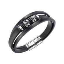 Wholesale Leather Bracelet for Mens
