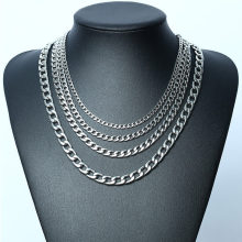 Wholesale Stainless Steel Cuban Necklace