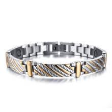Wholesale Stainless Steel Men Magnetic Bracelet