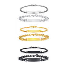 Wholesale Stainless Steel Personalized Bracelets for Couple