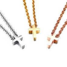 Wholesale Women Stainless Steel Cross Necklace