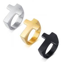 Wholesale Stainless Steel Cross Rings