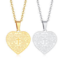 Wholesale Stainless Steel Pendant with Bible