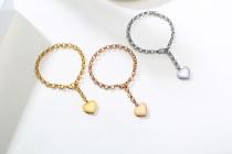 Wholesale Stainless Steel Women Bracelet with Heart