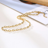 Wholeasle Stainless Steel O Chain Necklace