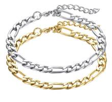 Wholesale Stainless Steel Chain Bracelets