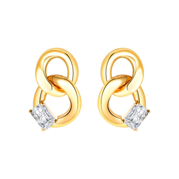 Wholesale Copper Chain Earring